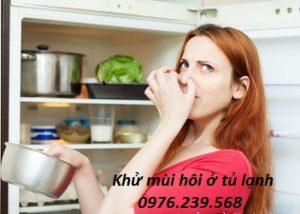 Tủ lạnh có mùi hôi và cách khắc phục