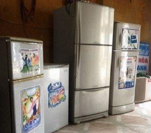 Mua bán tủ lạnh cũ tại Hà nội