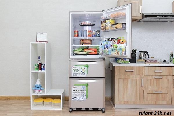 Đặt tủ lạnh ở chỗ thoáng