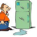 Sửa tủ lạnh bị chảy nước ra ngoài