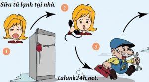 Sửa tủ lạnh tại Quan hoa