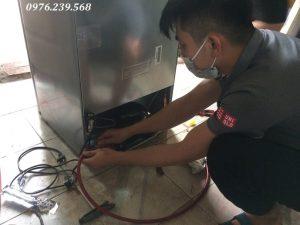 Bơm gas tủ lạnh tại Cầu Giấy